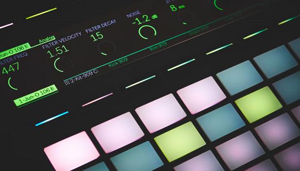 Elektronisk Musik Rap Hip Hop (002)